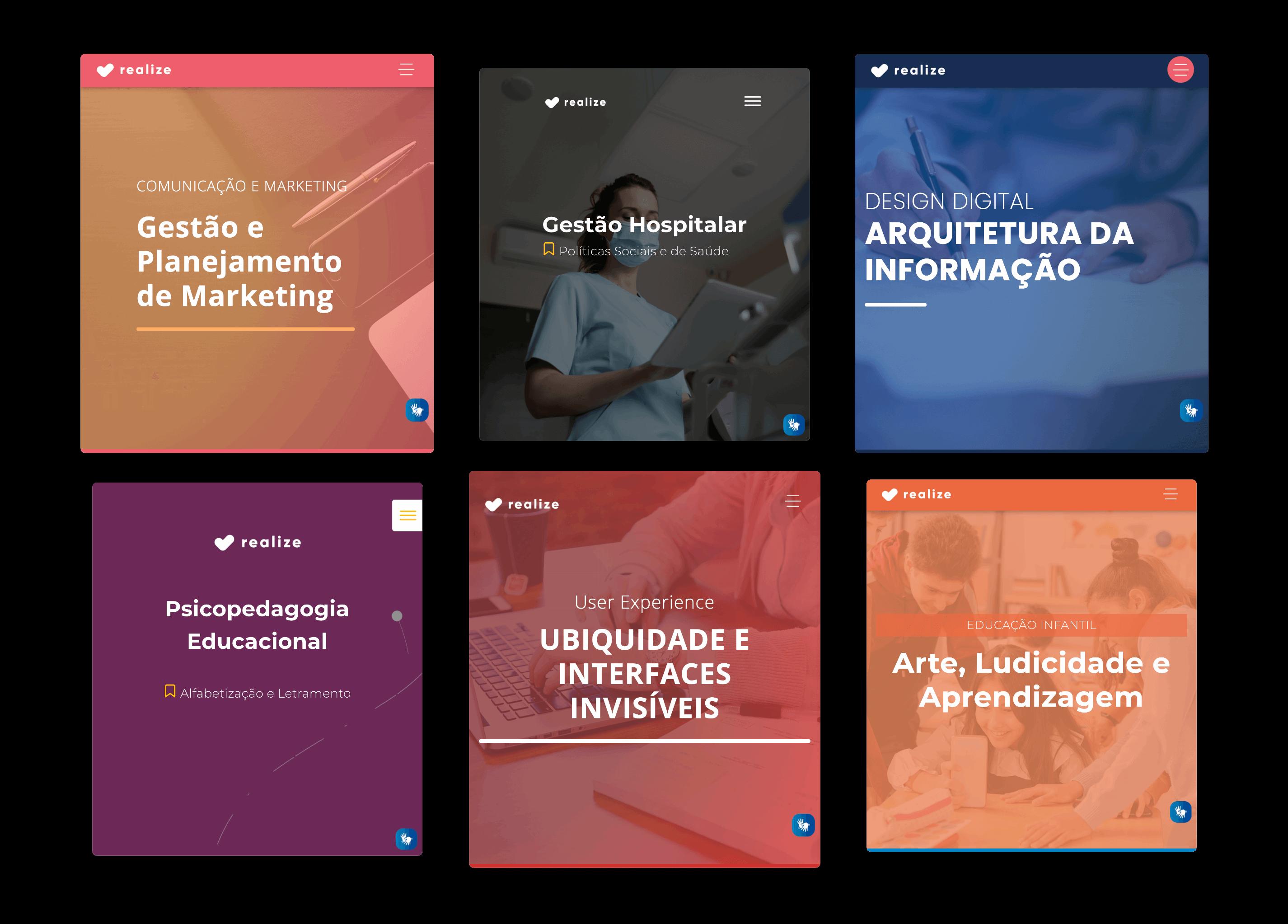 plataforma de criação de materiais didáticos - Temas Customizáveis da Realize